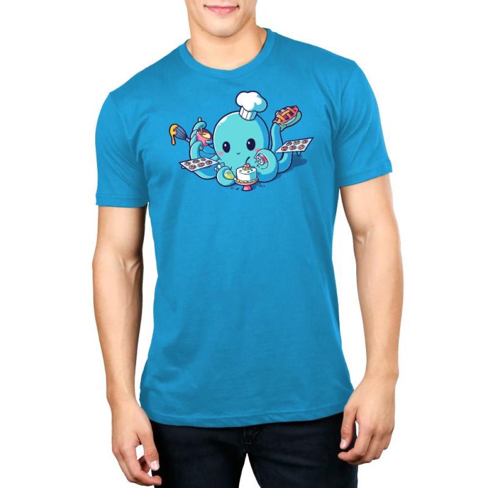 I <3 Baking Men's T-Shirt Model TeeTurtle