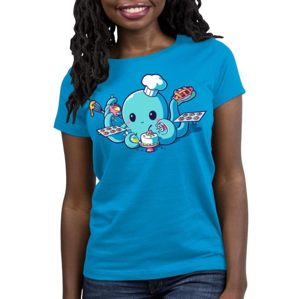 I <3 Baking Women's T-Shirt Model TeeTurtle