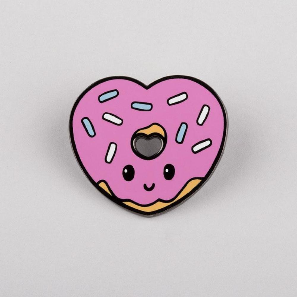 I <3 Donuts Pin TeeTurtle
