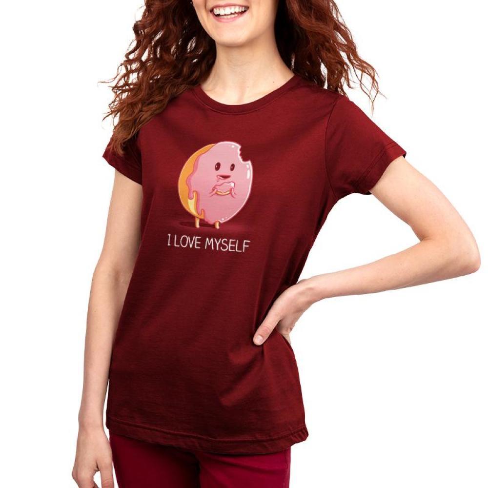 I Love Myself Women's T-Shirt Model TeeTurtle