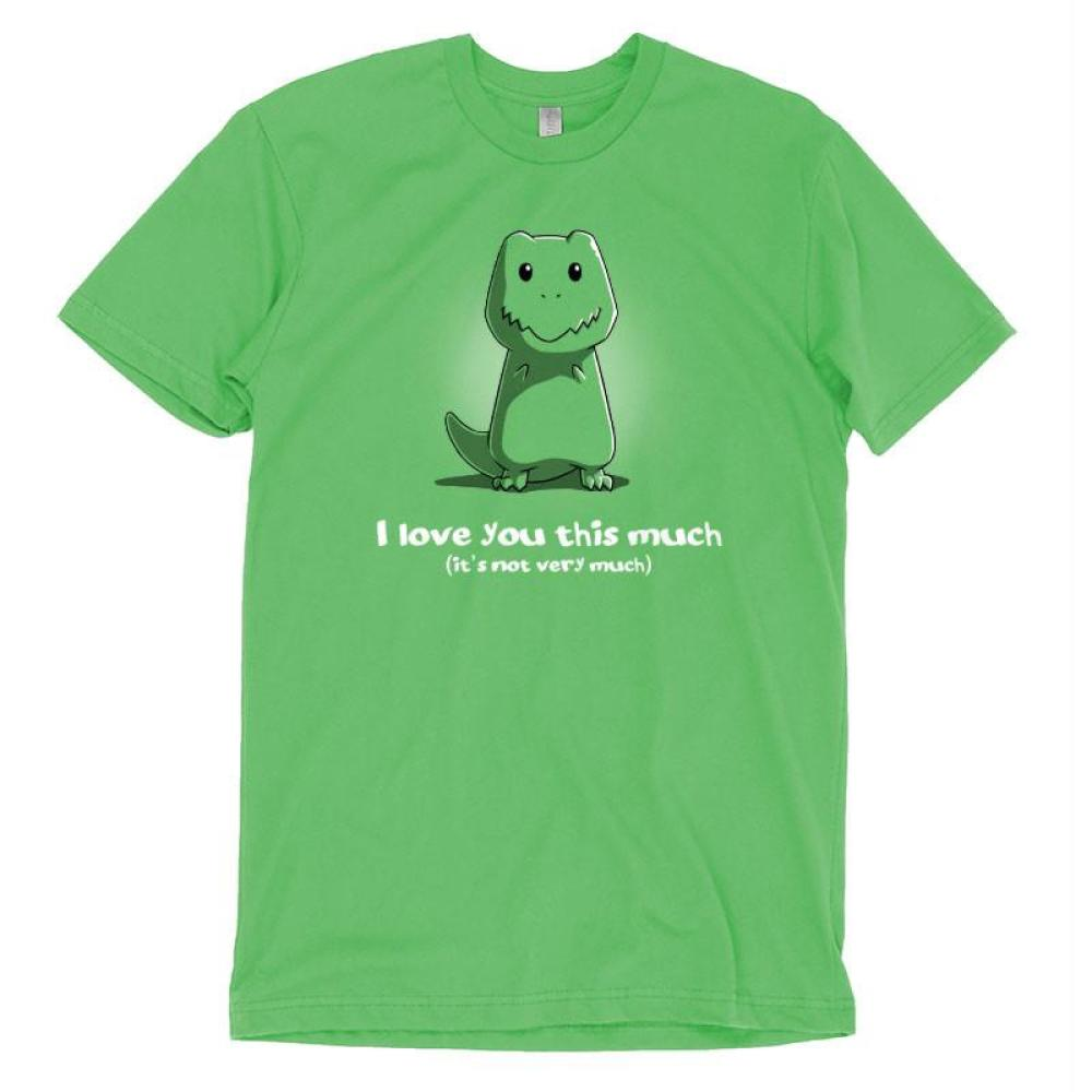 I Love You This Much t-shirt TeeTurtle
