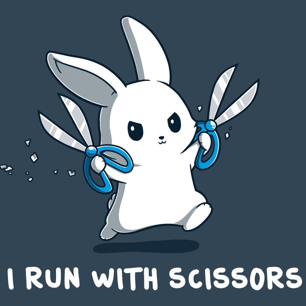 I Run With Scissor T-Shirt TeeTurtle