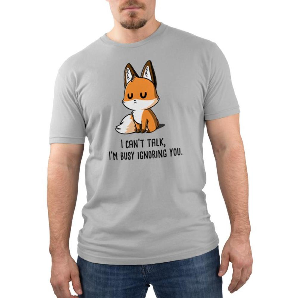 I'm Busy Ignoring You Men's T-Shirt Model TeeTurtle