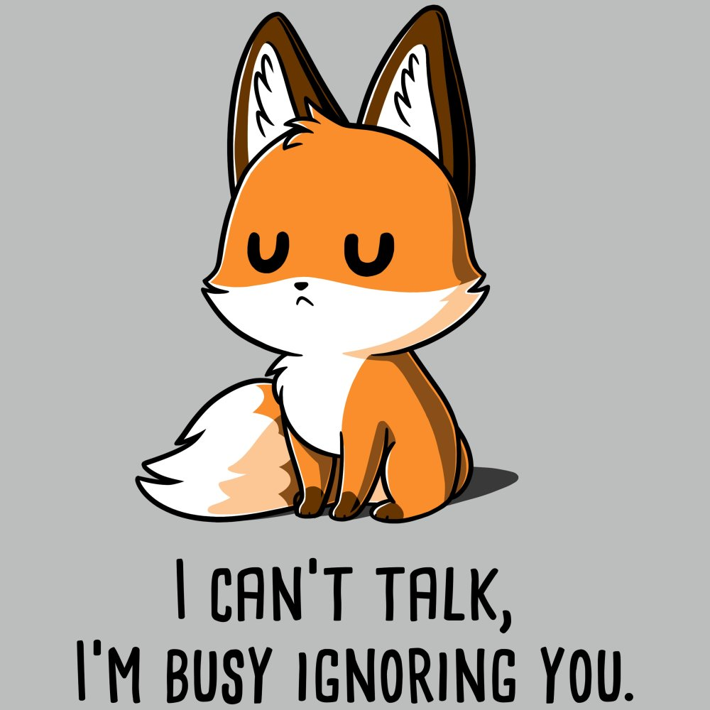 I'm Busy Ignoring You T-Shirt TeeTurtle