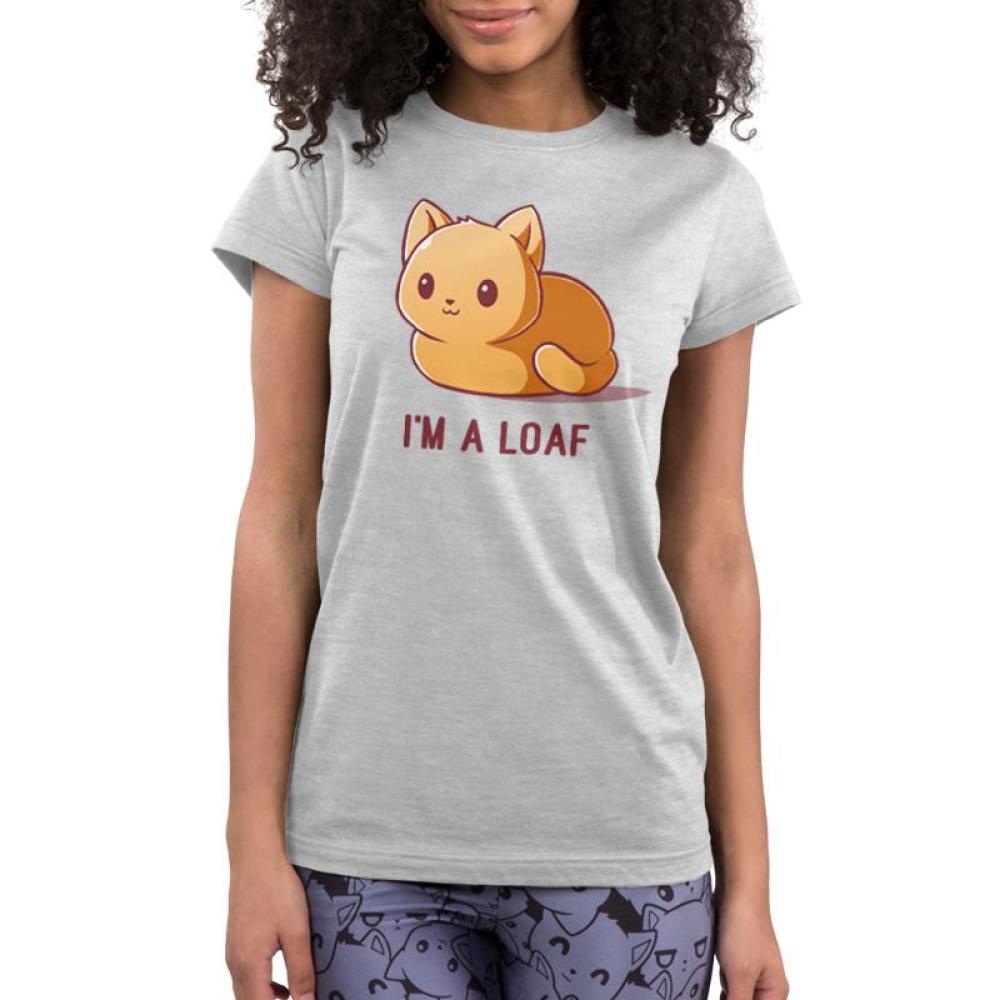 I'm a Loaf Juniors T-Shirt Model TeeTurtle
