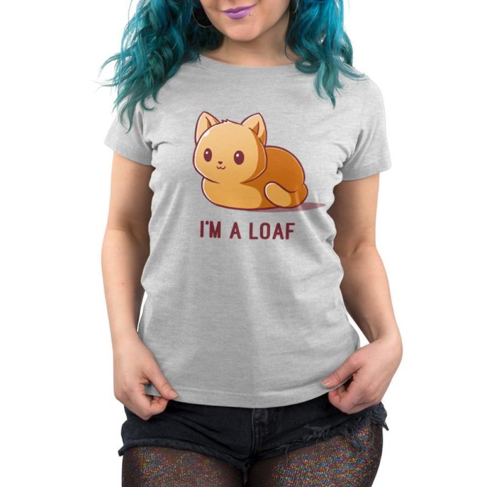 I'm a Loaf Women's T-Shirt Model TeeTurtle