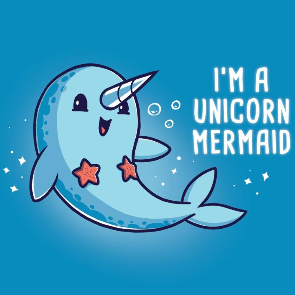 I'm a Unicorn Mermaid! T-Shirt Unstable Unicorns TeeTurtle