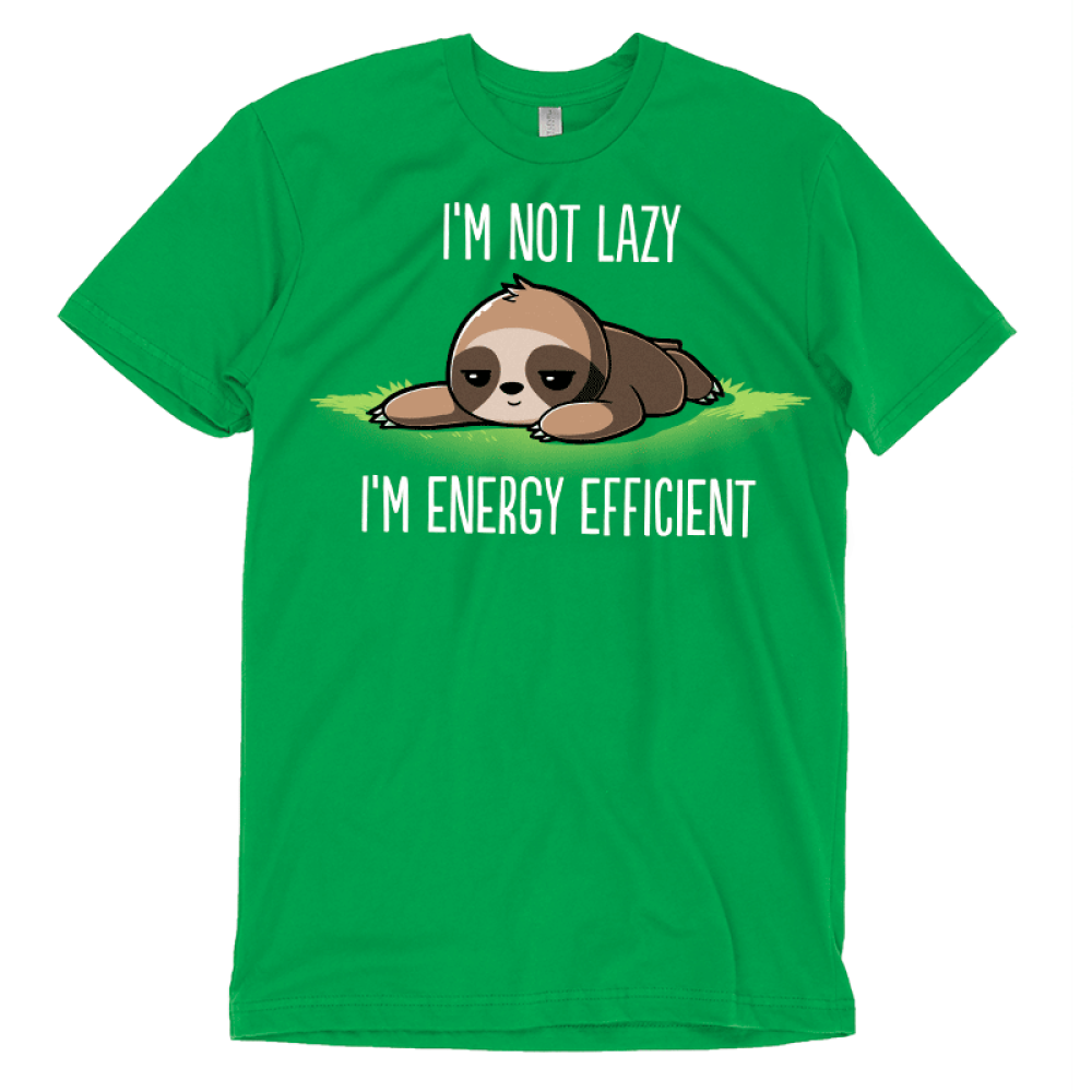 I'm Energy Efficient T-Shirt TeeTurtle