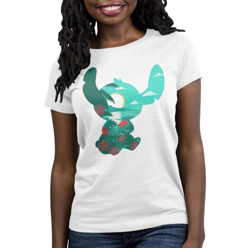 Island Stitch Women's T-Shirt Model Disney TeeTurtle