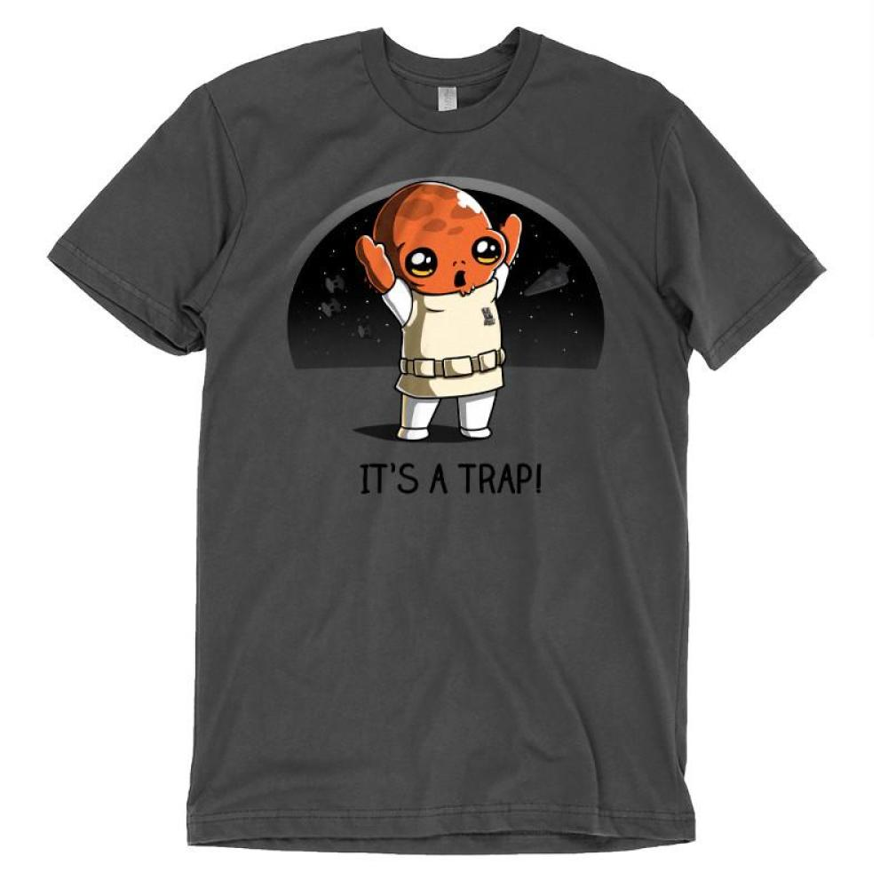 It's a Trap! T-Shirt Star Wars TeeTurtle