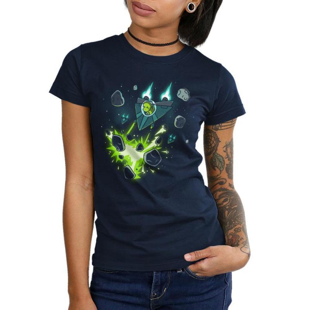 Jurassic Revenge Juniors T-Shirt Model TeeTurtle
