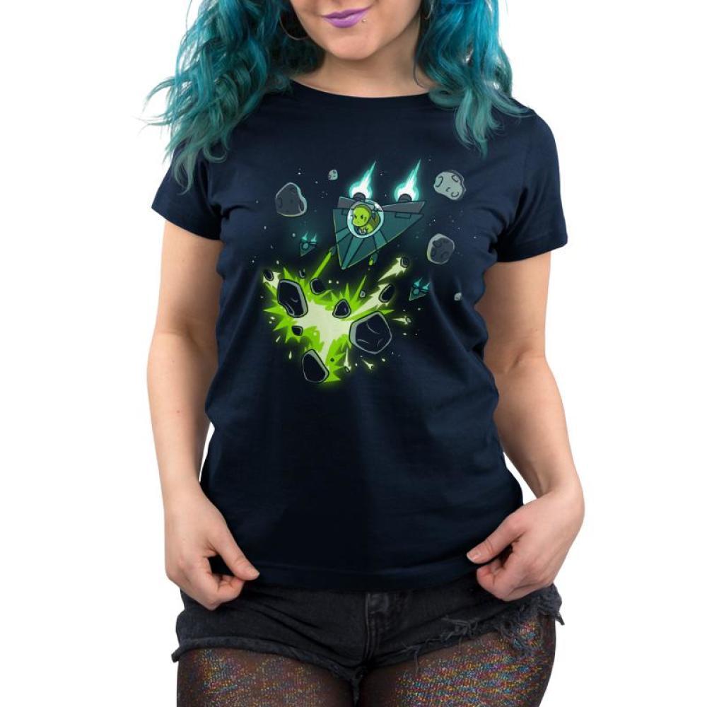 Jurassic Revenge Women's T-Shirt Model TeeTurtle