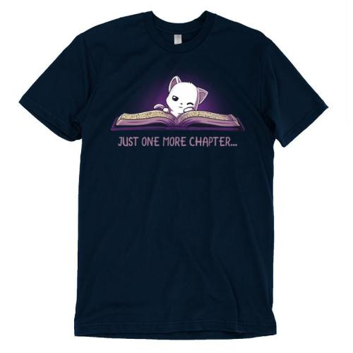 Just One More Chapter T-Shirt TeeTurtle