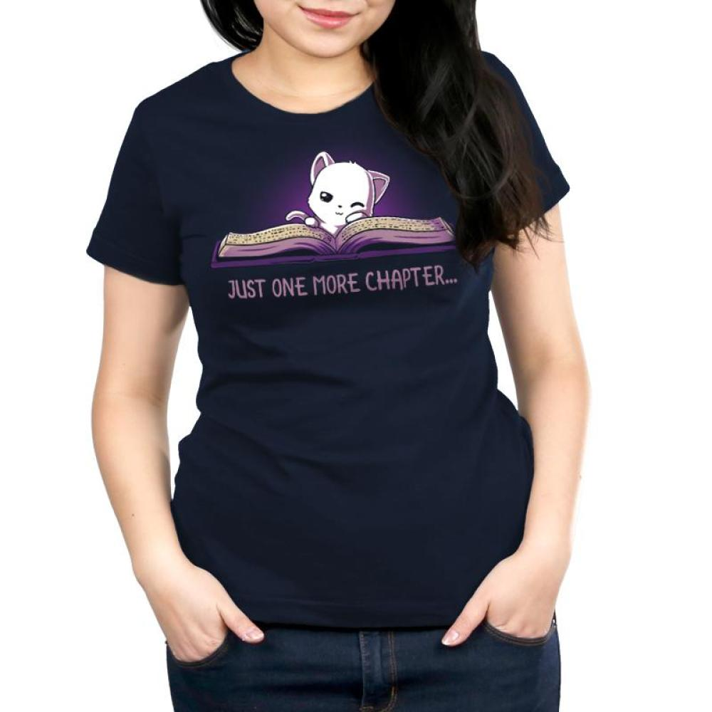 Just One More Chapter Women's Relaxed Fit T-Shirt Model TeeTurtle