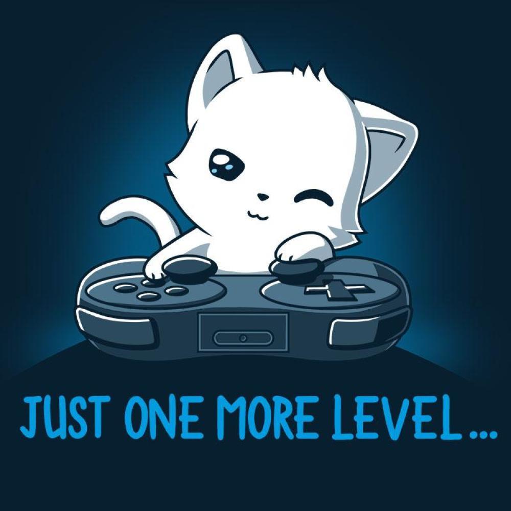 Just One More Level T-Shirt TeeTurtle