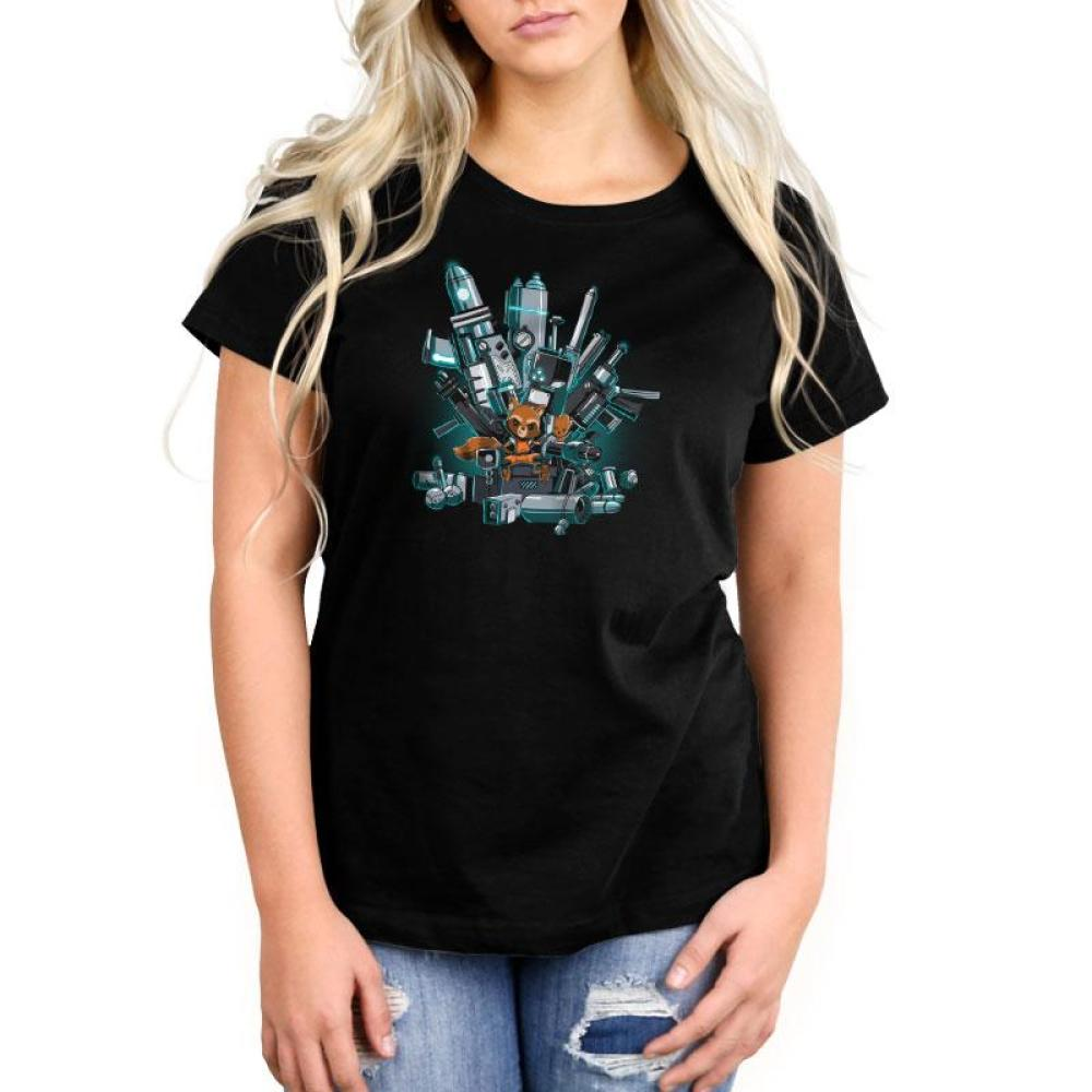 King of the Galaxy Women's Relaxed Fit T-Shirt Model Marvel TeeTurtle