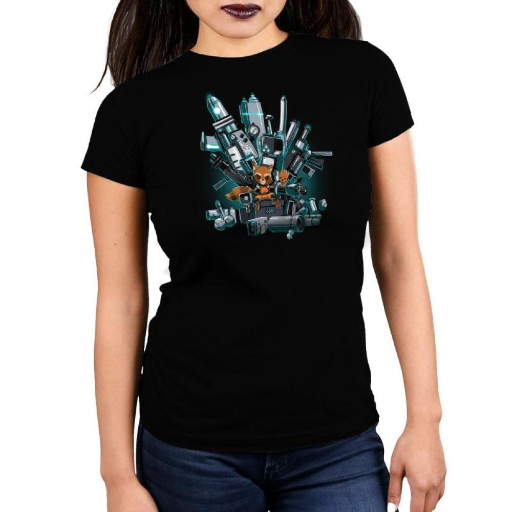King of the Galaxy Women's Ultra Slim T-Shirt Model Marvel TeeTurtle