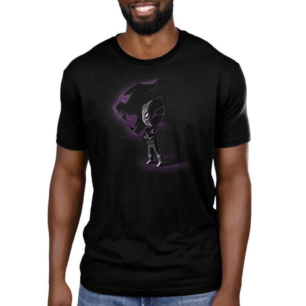 King of Wakanda Men's T-Shirt Model Marvel TeeTurtle