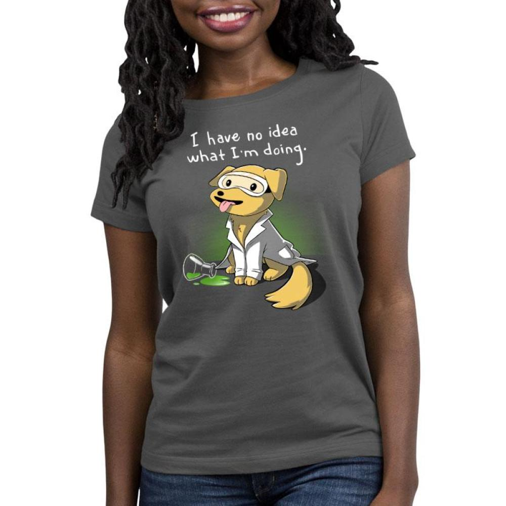 Lab Experiment Women's Relaxed Fit T-Shirt Model TeeTurtle