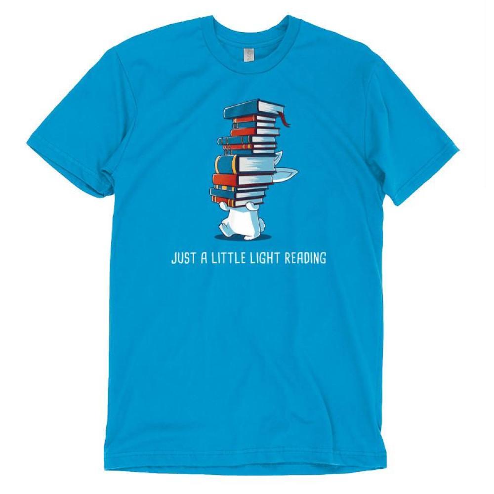 Just a Little Light Reading t-shirt TeeTurtle