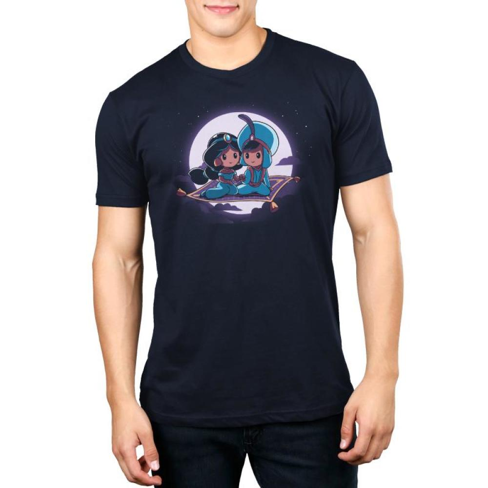 Magic Carpet Ride Men's T-Shirt Model Disney TeeTurtle