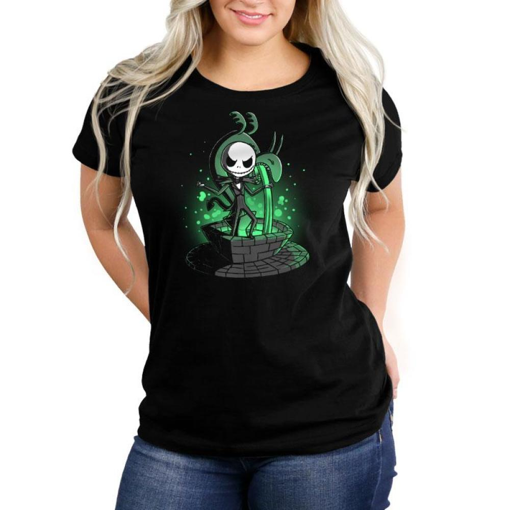 Making an Entrance Women's Relaxed Fit T-Shirt Model Disney The Nightmare Before Christmas TeeTurtle