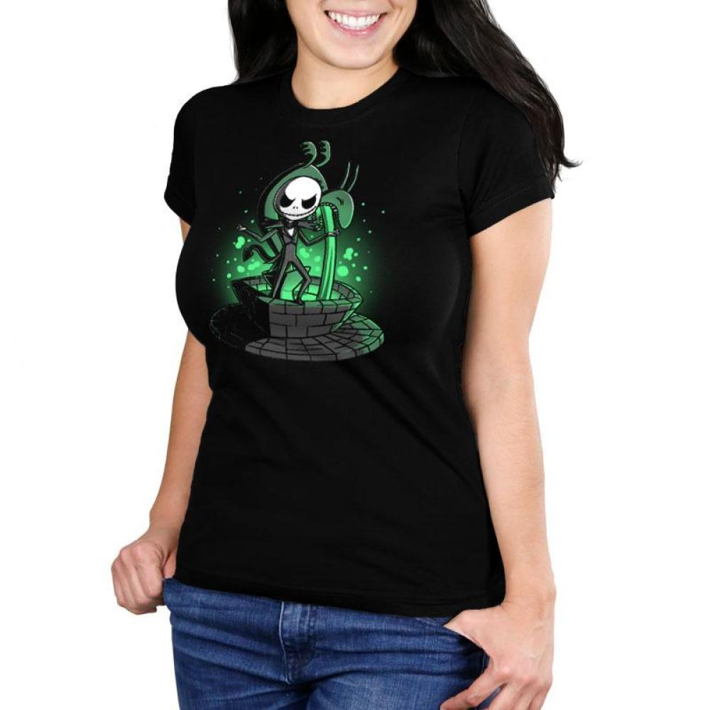 Making an Entrance Women's Ultra Slim T-Shirt Model Disney The Nightmare Before Christmas TeeTurtle
