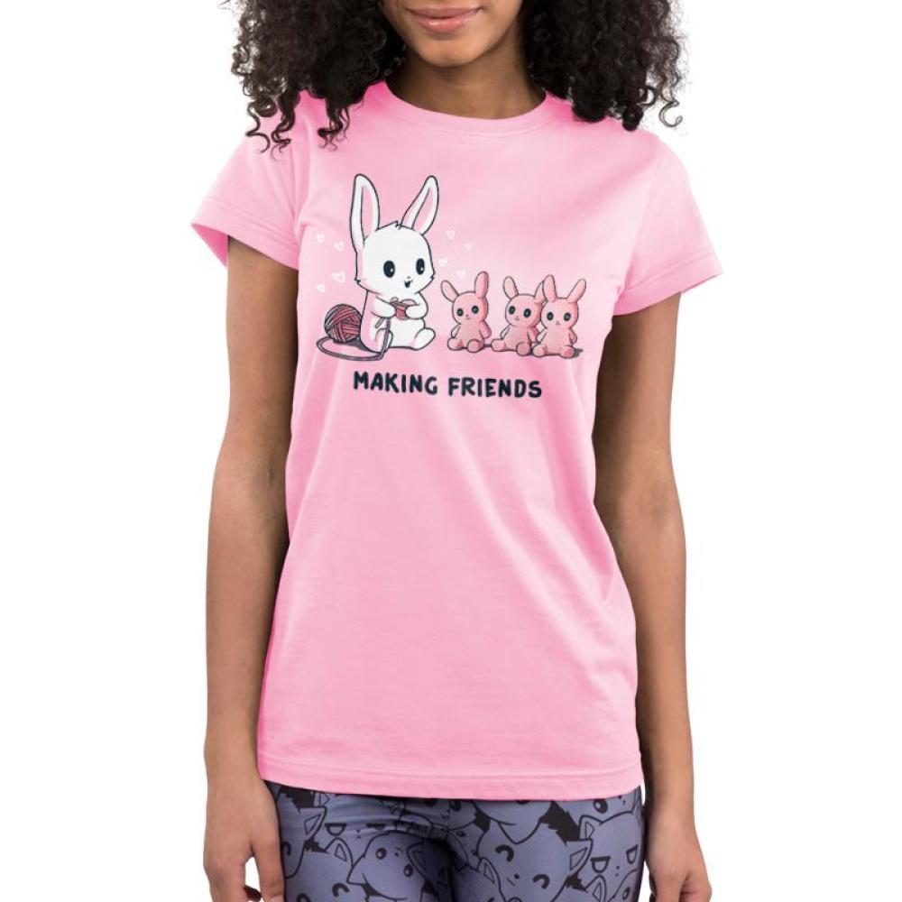 Making Friends Juniors T-Shirt Model TeeTurtle