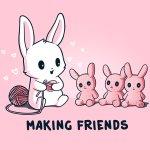 Making Friends T-Shirt TeeTurtle