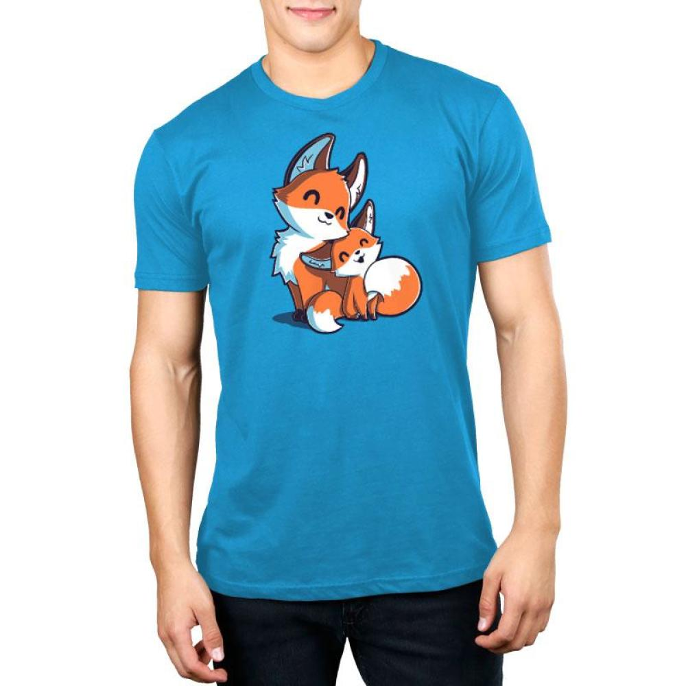 Mama & Baby Fox Standard T-Shirt Model TeeTurtle