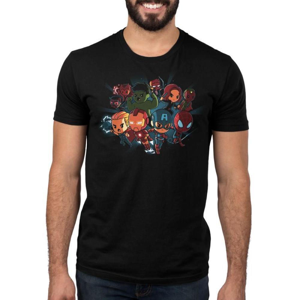 Marvel Avengers Shirt Men's T-Shirt Model Marvel TeeTurtle