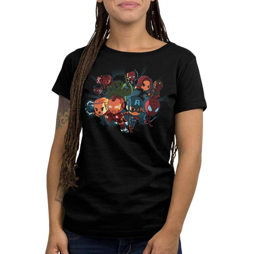 Marvel Avengers Shirt Women's T-Shirt Model Marvel TeeTurtle
