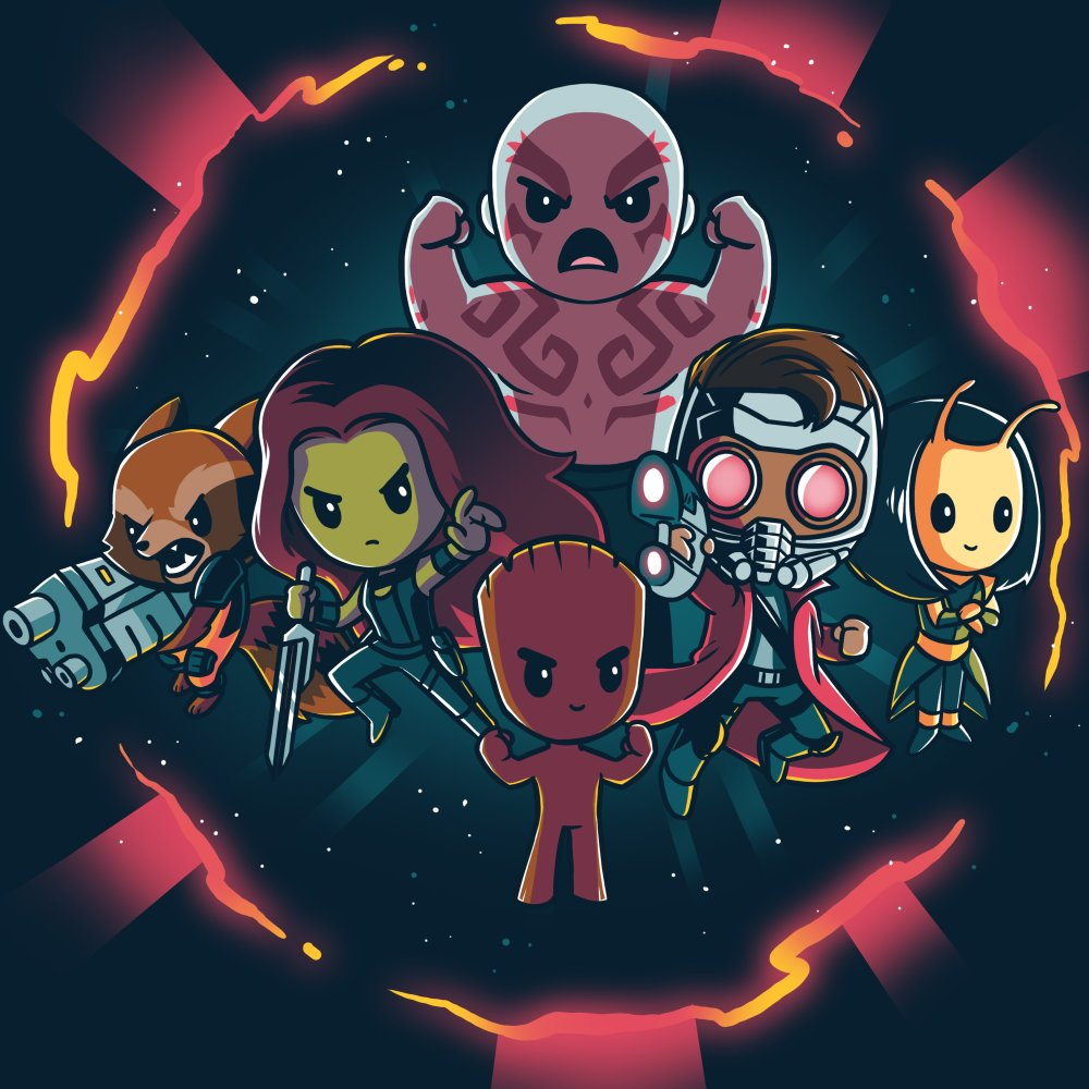 Marvel Guardians of the Galaxy Shirt T-Shirt Marvel TeeTurtle