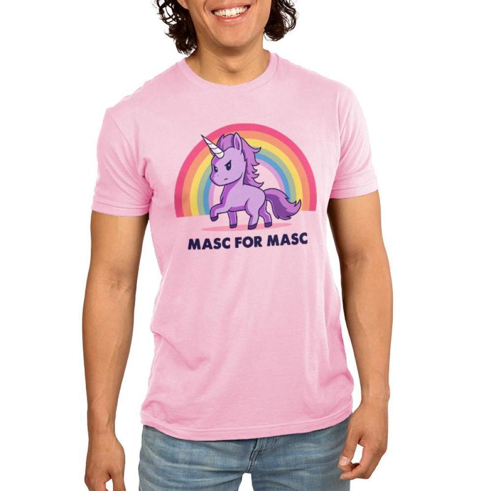 Masc For Masc Men's T-Shirt Model TeeTurtle