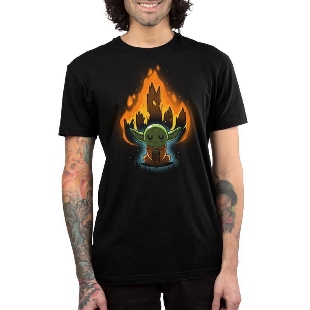 Master Yoda Men's T-Shirt Model Star Wars TeeTurtle
