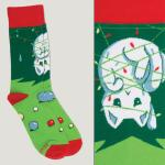 Meowy Christmas Socks TeeTurtle