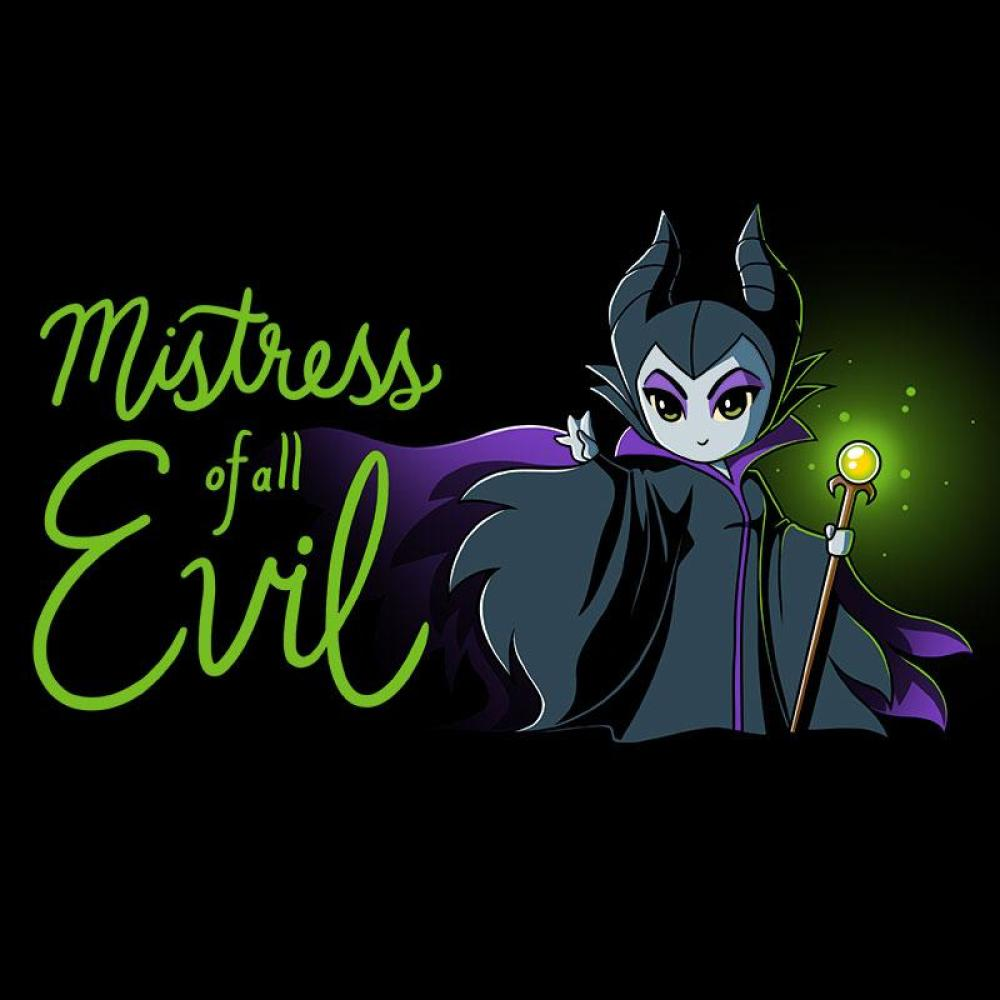 Mistress Of All Evil T-Shirt Sleeping Beauty TeeTurtle