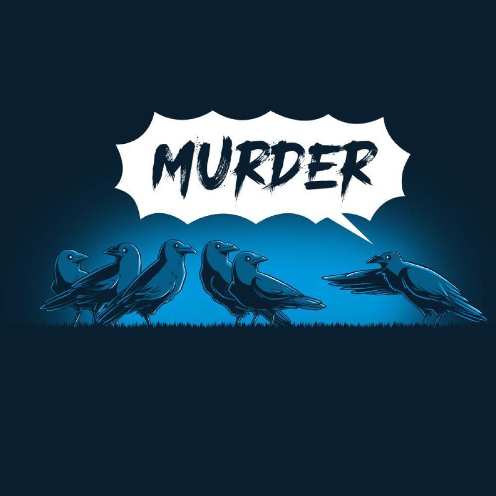 Murder of Crows T-Shirt TeeTurtle