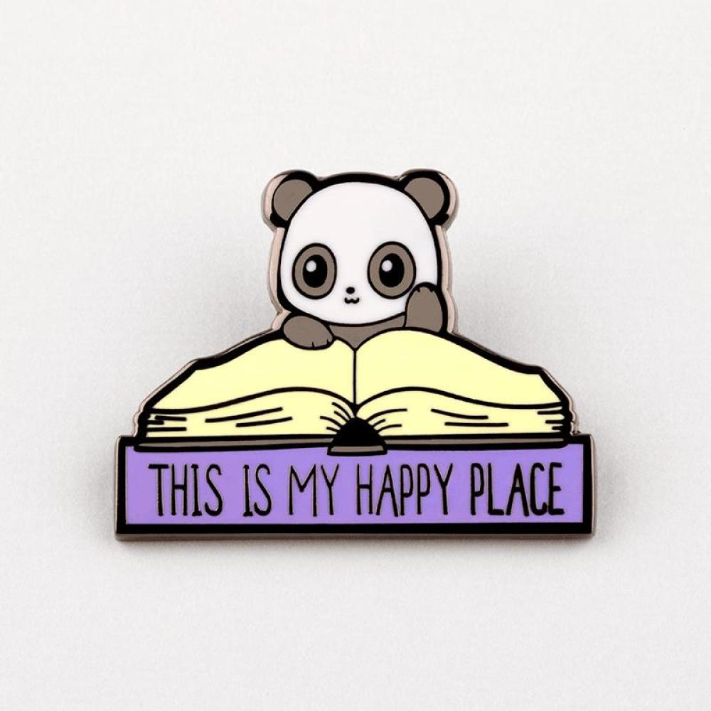 My Happy Place Pin TeeTurtle