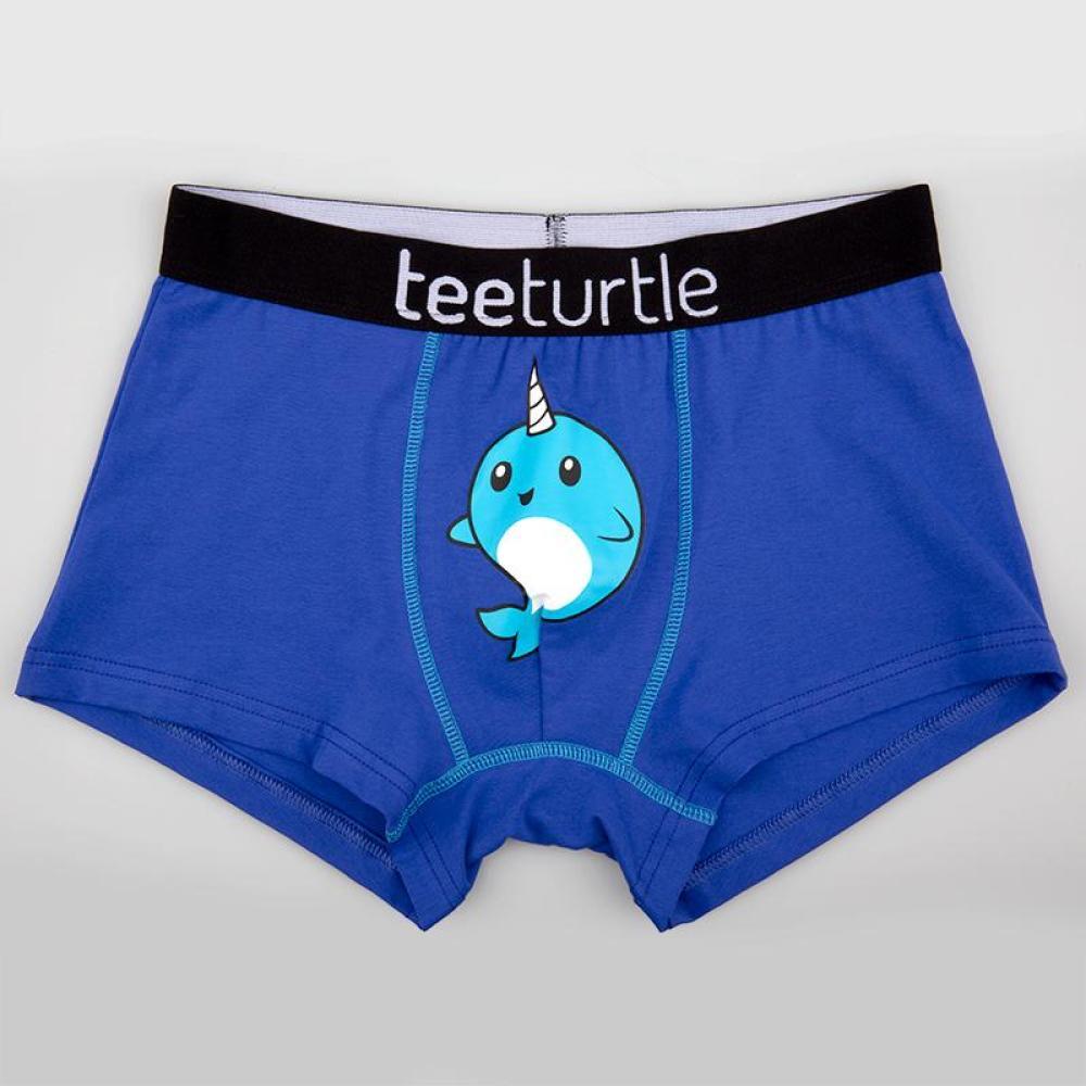 Narwhal Underwear TeeTurtle