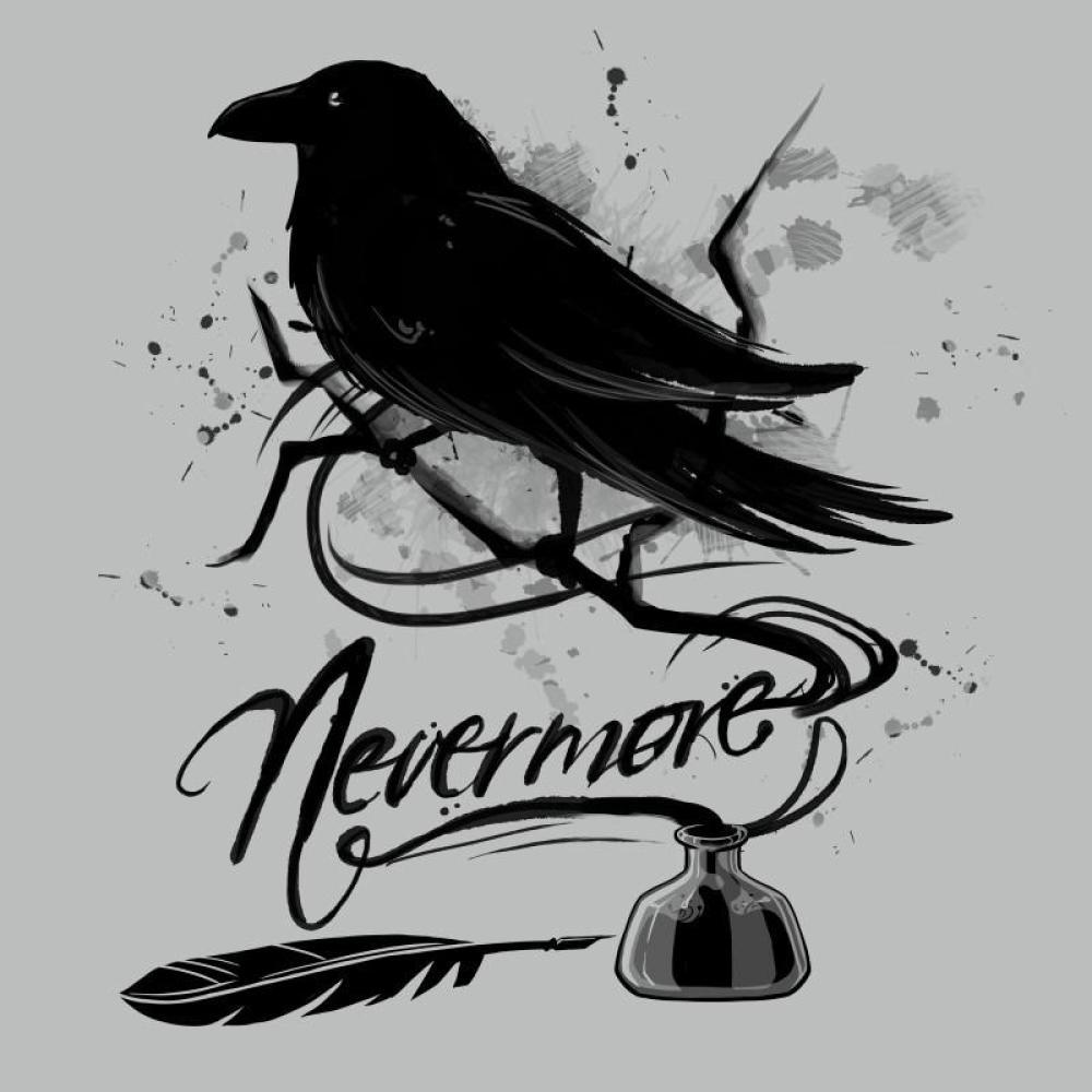 Nevermore shirt TeeTurtle