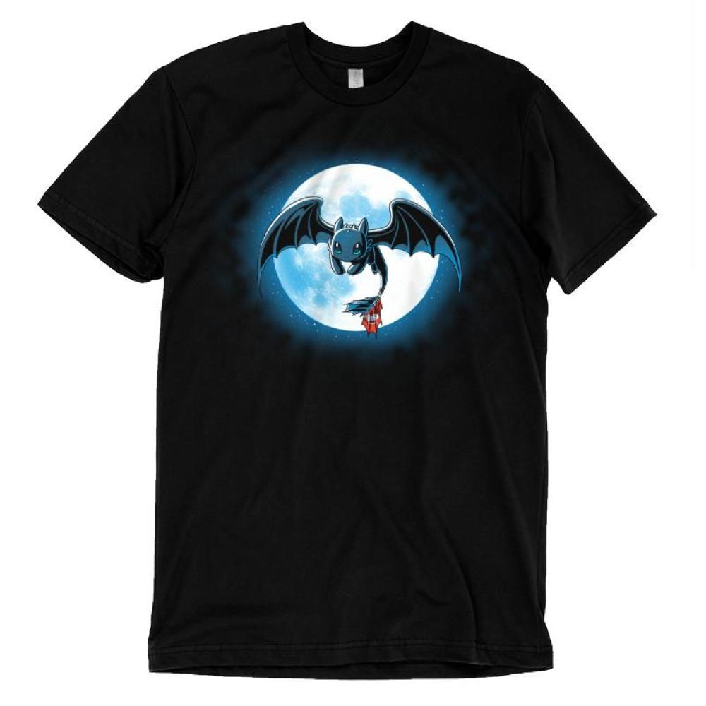 Night Fury t-shirt How To Train Your Dragon TeeTurtle