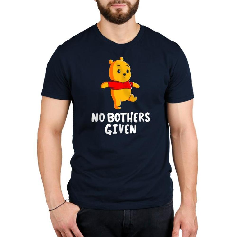 No Bothers Given Standard T-Shirt Model Disney TeeTurtle