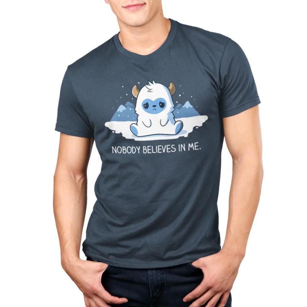 No One Believes In Me Men's T-Shirt Model TeeTurtle