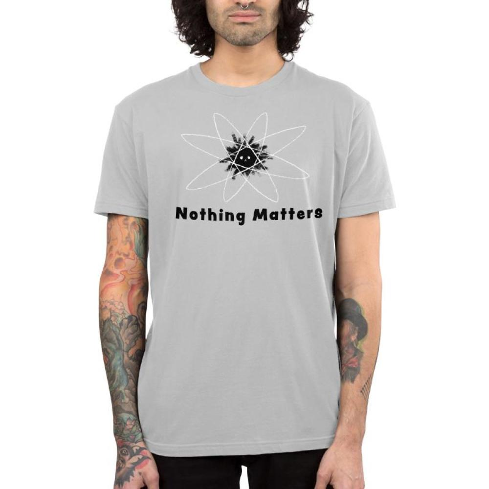 Nothing Matters Men's T-Shirt Model TeeTurtle