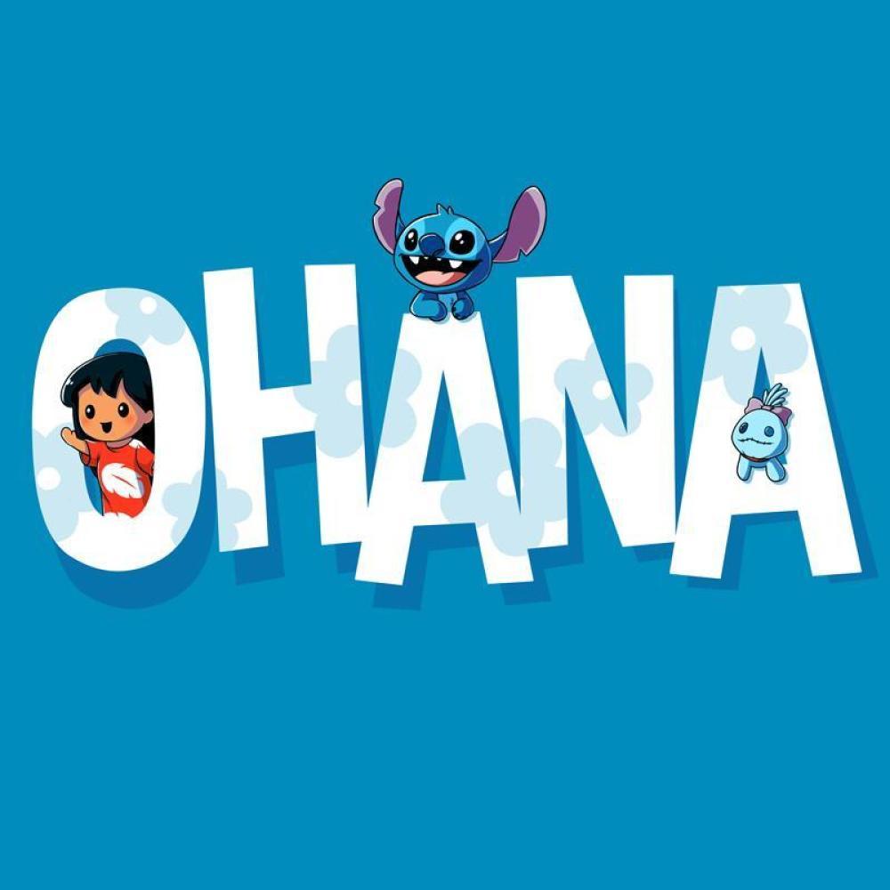 bfcc7e081 Lilo and Stitch Ohana T-Shirt   Official Lilo & Stitch Tee - TeeTurtle