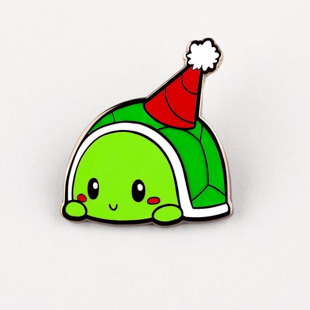 Party Turtle Charm Pin TeeTurtle