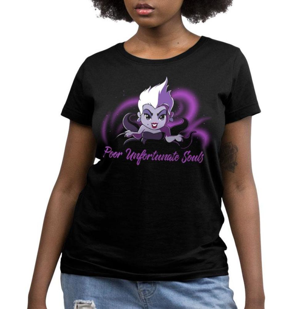 Poor Unfortunate Souls Women's Relaxed Fit T-Shirt Model The Little Mermaid TeeTurtle