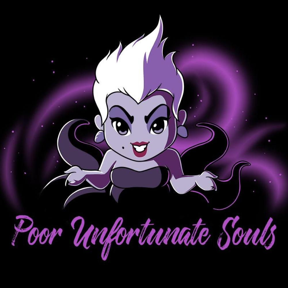 Ursula Poor Unfortunate Souls T Shirt Official Disney Tee Teeturtle