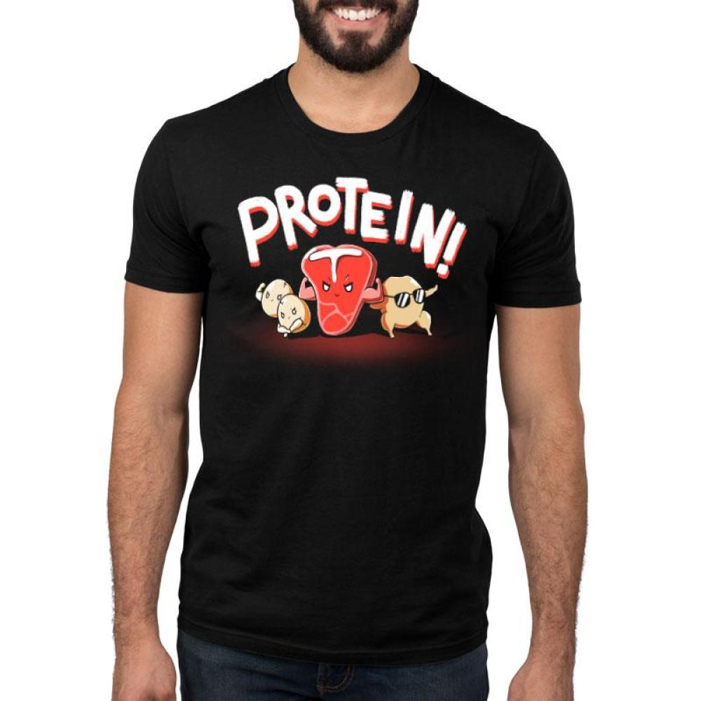 Protein! Standard T-Shirt Model TeeTurtle